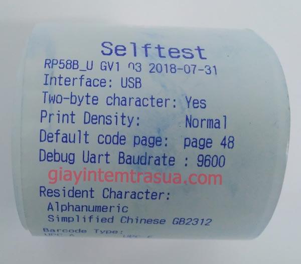 giấy in bill k57 mực xanh