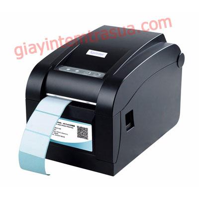 máy in tem trà sữa xprinter 350b